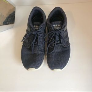 Adidas navy blue size 7 sneakers